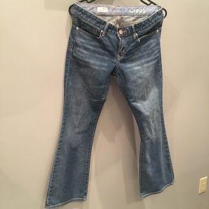 Gap Sexy Bootleg Jeans 28